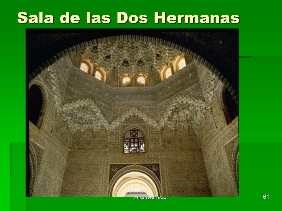 Arte islámico61 Sala de las Dos Hermanas