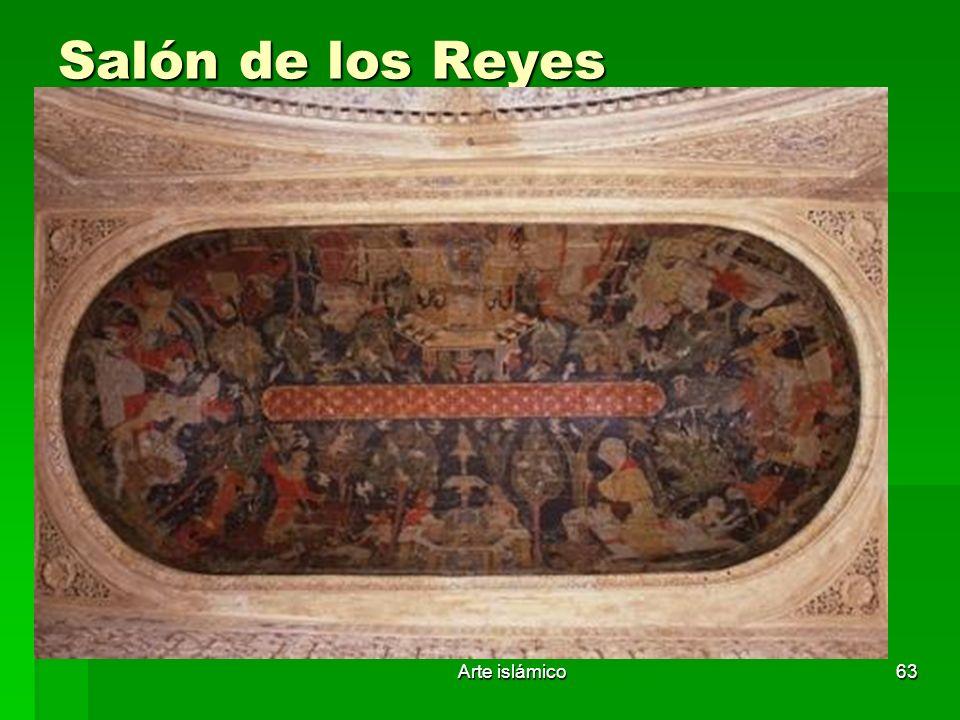 Arte islámico63 Salón de los Reyes
