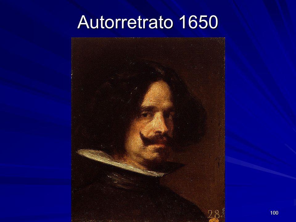 Pintura barroca 100 Autorretrato 1650