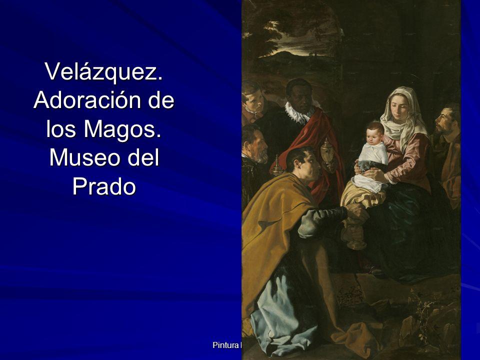 Pintura barroca 106 Velázquez. Adoración de los Magos. Museo del Prado