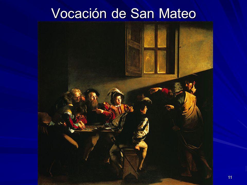 Pintura barroca 11 Vocación de San Mateo