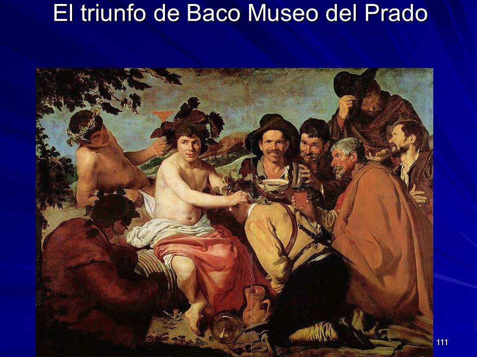 Pintura barroca 111 El triunfo de Baco Museo del Prado