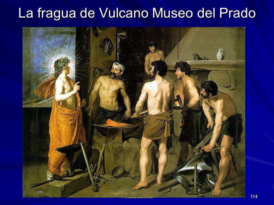Pintura barroca 114 La fragua de Vulcano Museo del Prado