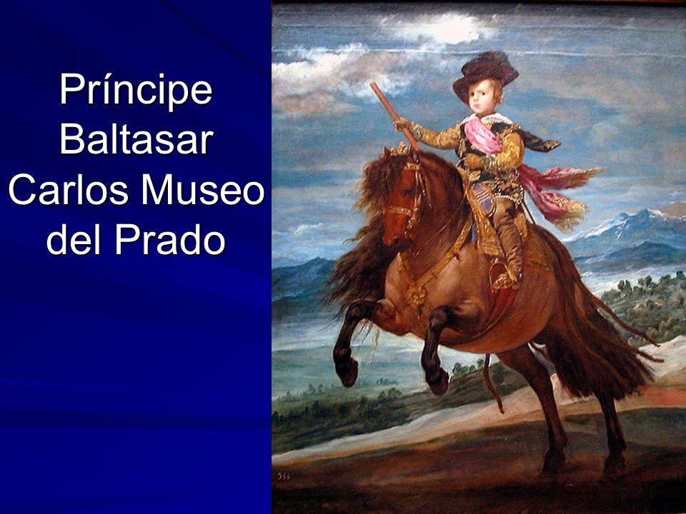 Pintura barroca 118 Príncipe Baltasar Carlos Museo del Prado