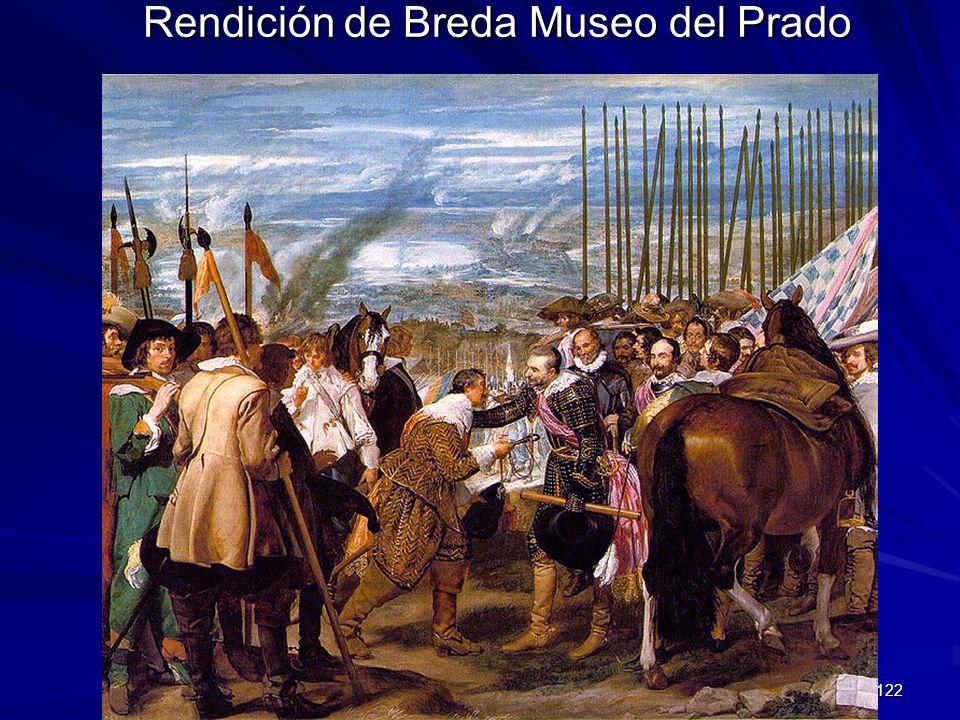 Pintura barroca 122 Rendición de Breda Museo del Prado