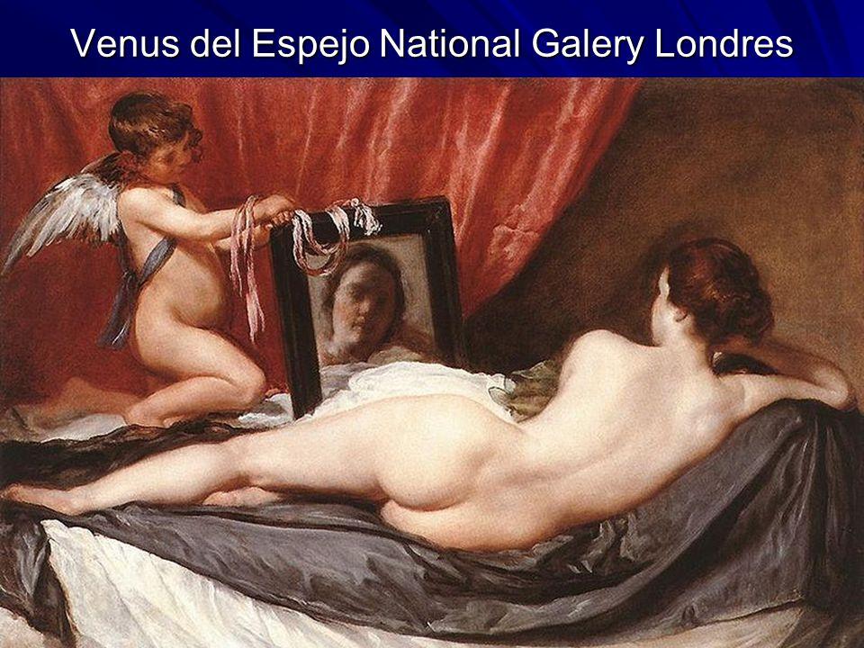 Pintura barroca 129 Venus del Espejo National Galery Londres