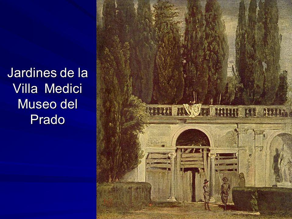 Pintura barroca 131 Jardines de la Villa Medici Museo del Prado