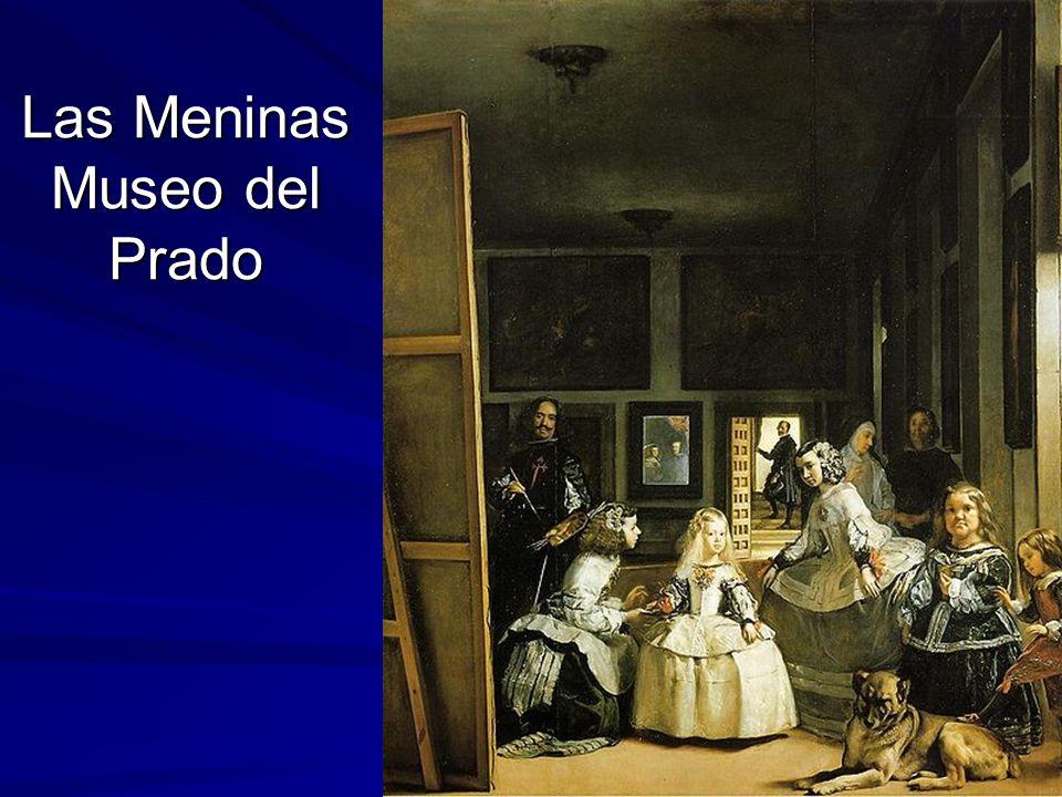 Pintura barroca 138 Las Meninas Museo del Prado