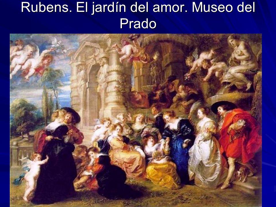 Pintura barroca 27 Rubens. El jardín del amor. Museo del Prado