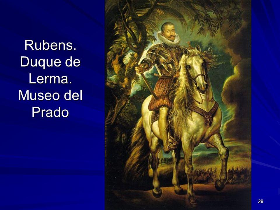 Pintura barroca 29 Rubens. Duque de Lerma. Museo del Prado