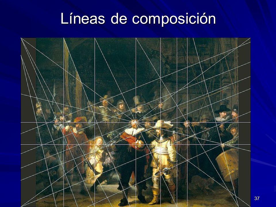 Pintura barroca 37 Líneas de composición