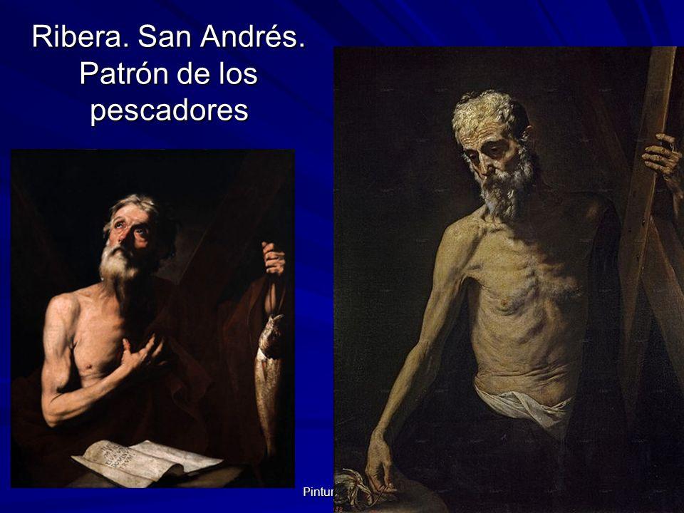 Pintura barroca 59 Ribera. San Andrés. Patrón de los pescadores