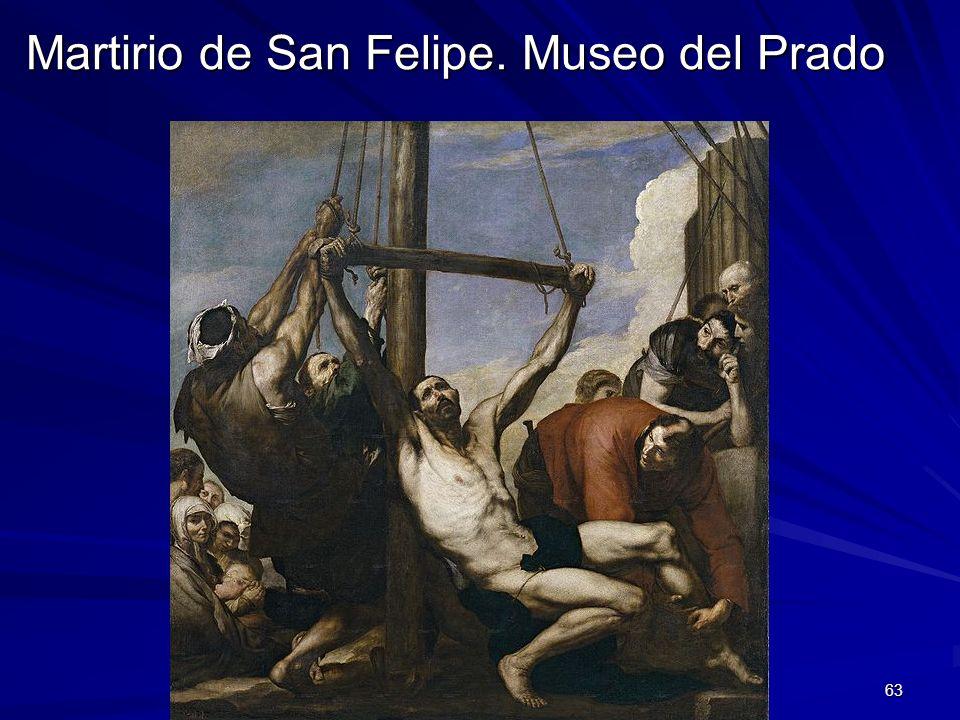Pintura barroca 63 Martirio de San Felipe. Museo del Prado