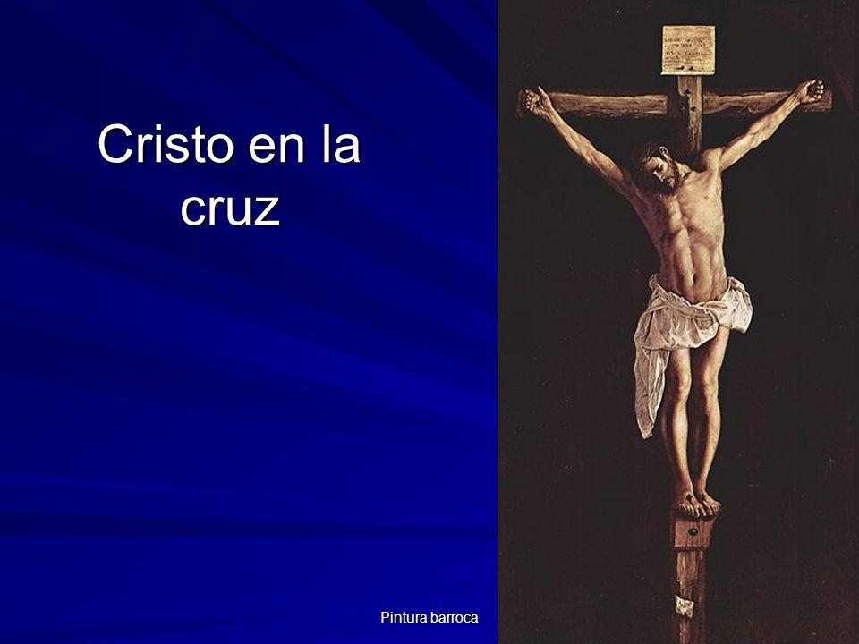 Pintura barroca 80 Cristo en la cruz