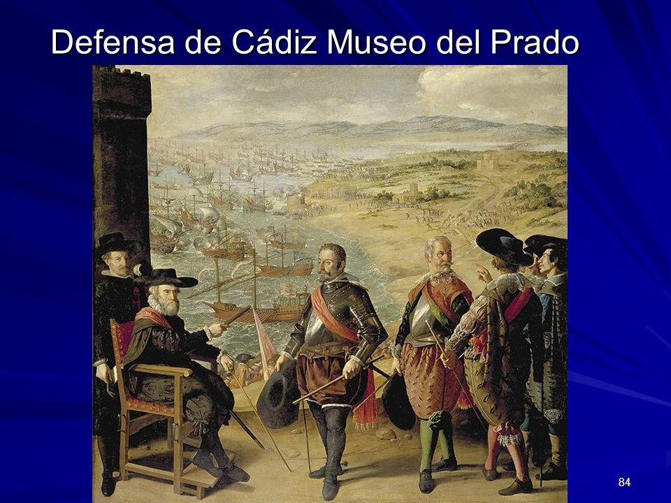 Pintura barroca 84 Defensa de Cádiz Museo del Prado