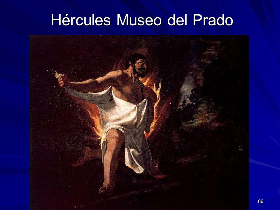 Pintura barroca 86 Hércules Museo del Prado