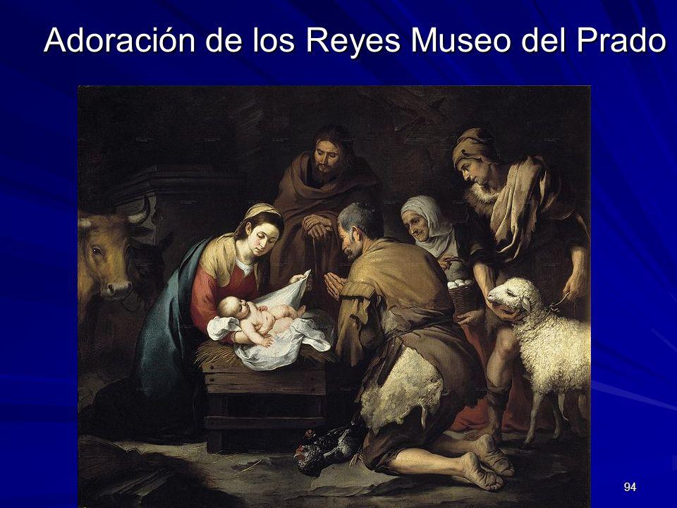 Pintura barroca 94 Adoración de los Reyes Museo del Prado