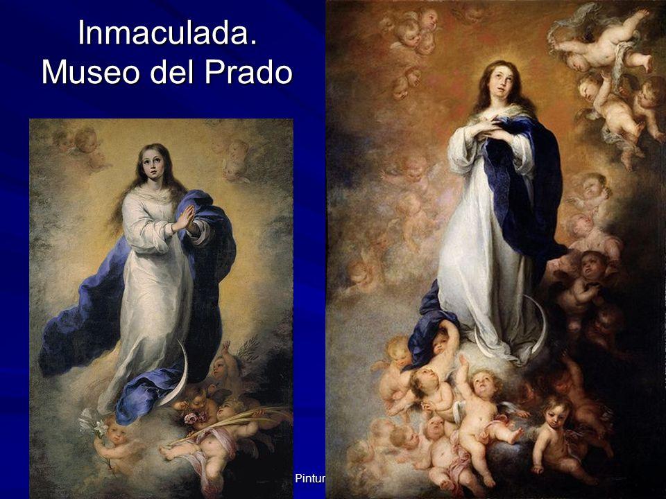 Pintura barroca 95 Inmaculada. Museo del Prado