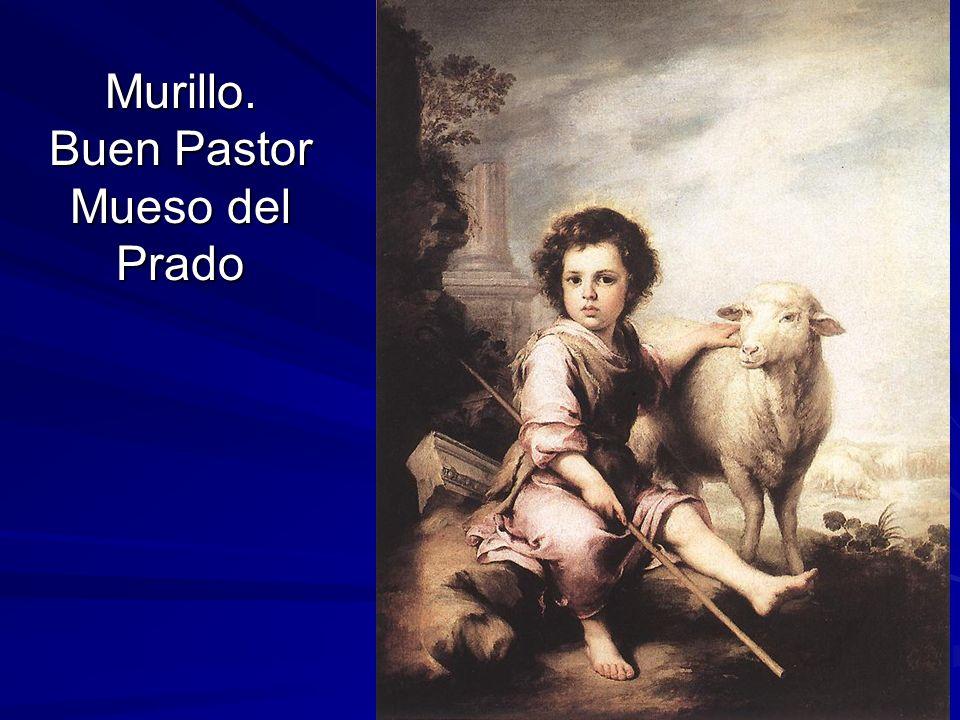 Pintura barroca 97 Murillo. Buen Pastor Mueso del Prado