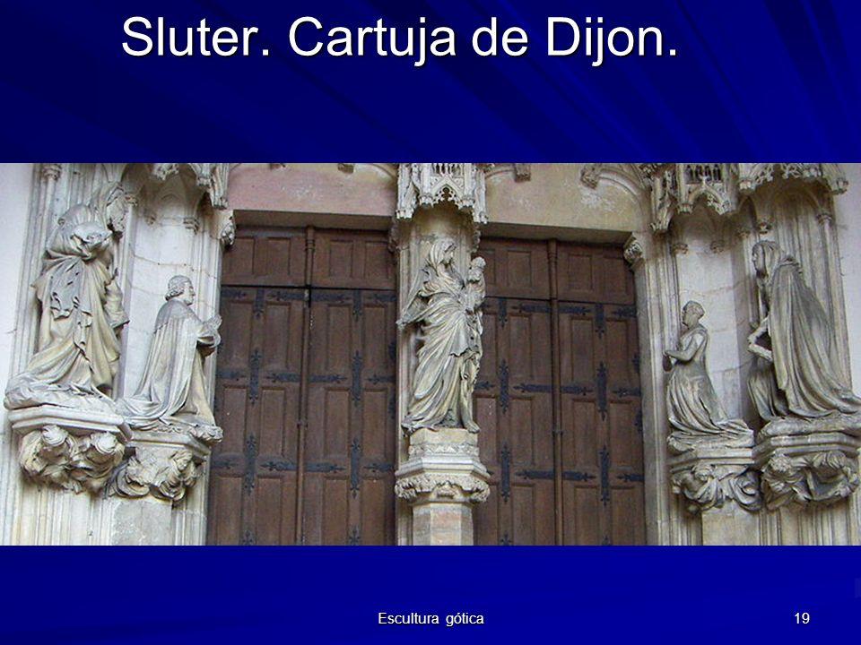Escultura gótica 19 Sluter. Cartuja de Dijon.