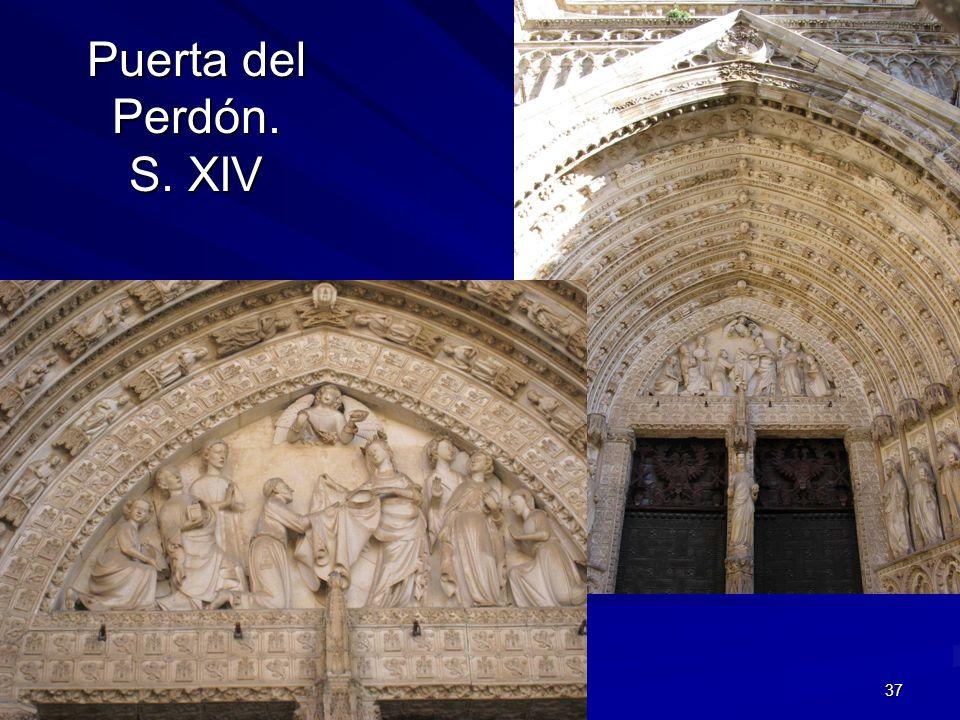 Escultura gótica 37 Puerta del Perdón. S. XIV