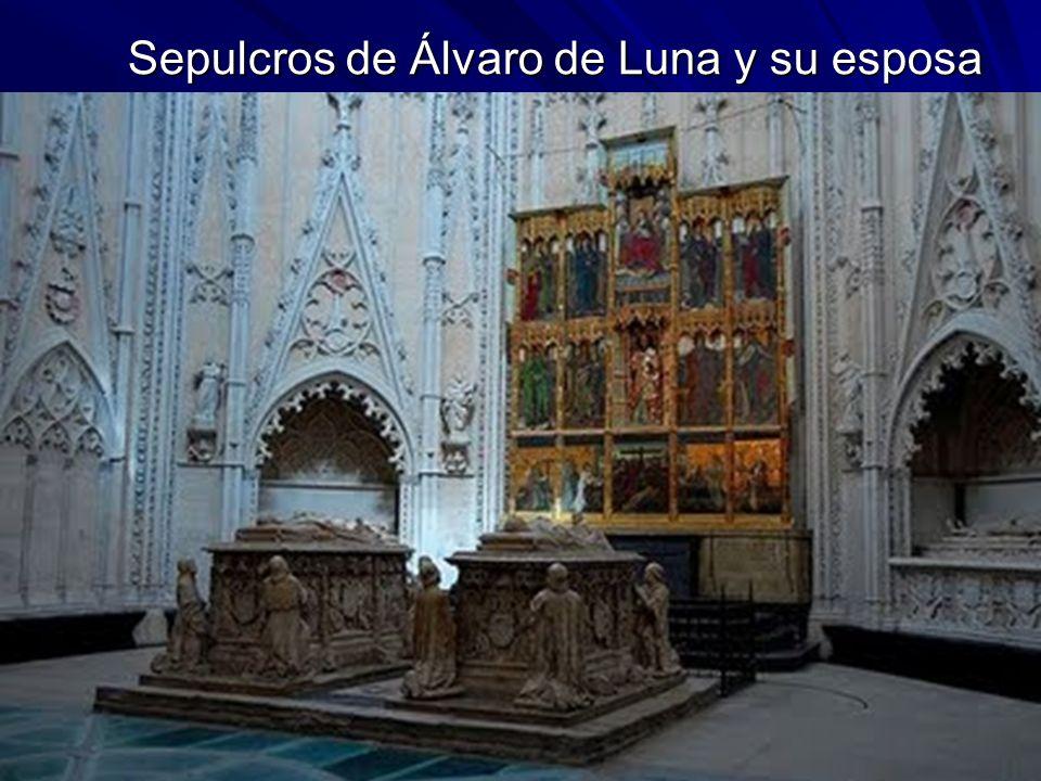 Escultura gótica 44 Sepulcros de Álvaro de Luna y su esposa