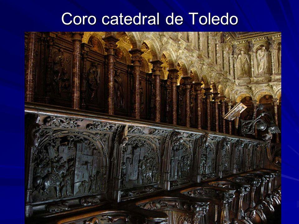 Escultura gótica 46 Coro catedral de Toledo
