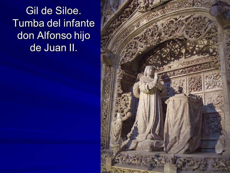 Escultura gótica 50 Gil de Siloe. Tumba del infante don Alfonso hijo de Juan II.
