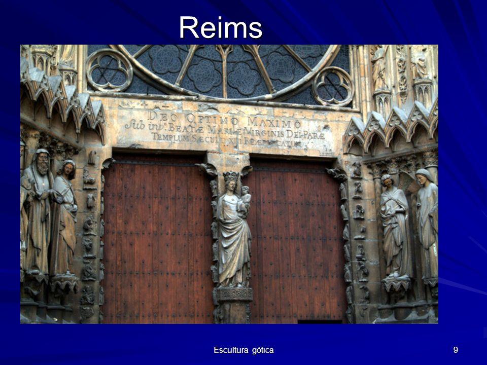 Escultura gótica 9 Reims