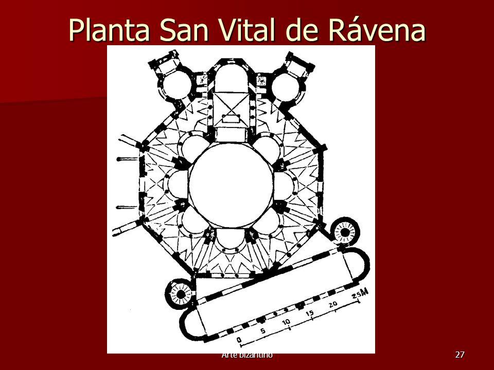 Arte bizantino27 Planta San Vital de Rávena