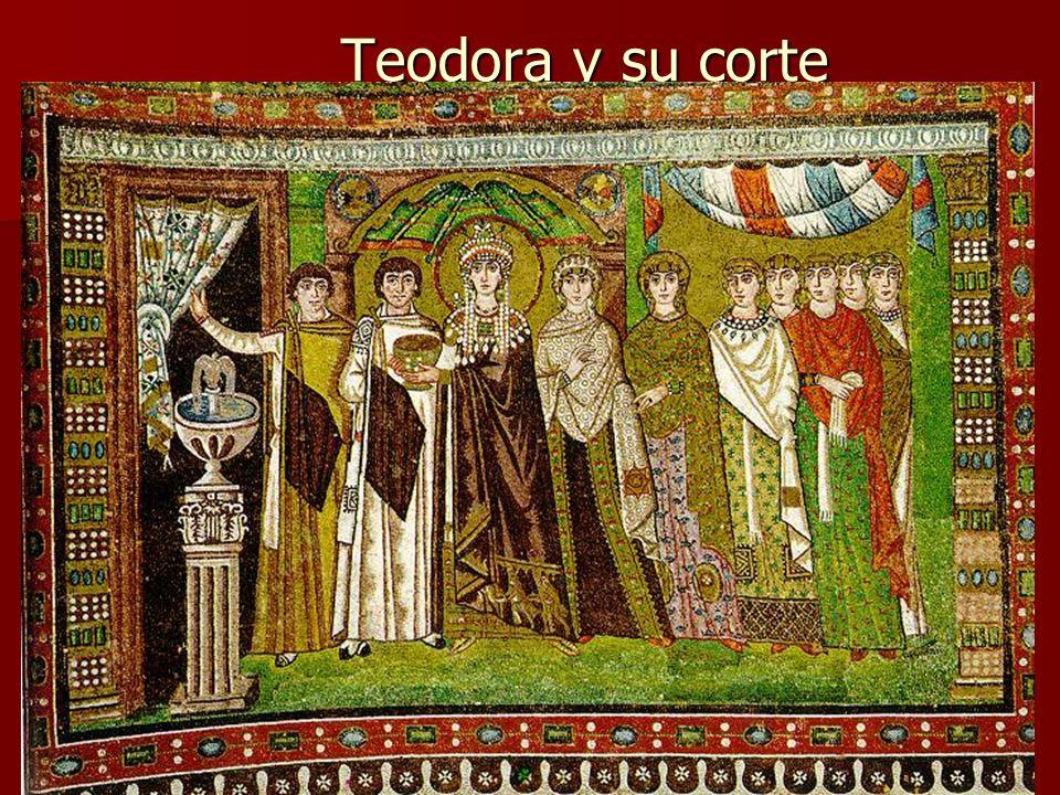 Arte bizantino34 Teodora y su corte