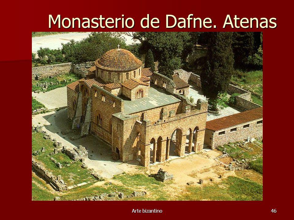 Arte bizantino46 Monasterio de Dafne. Atenas