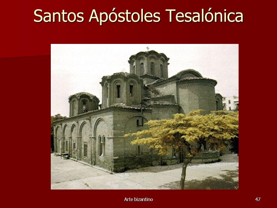Arte bizantino47 Santos Apóstoles Tesalónica