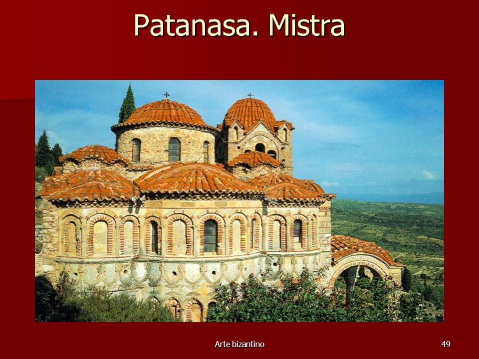 Arte bizantino49 Patanasa. Mistra