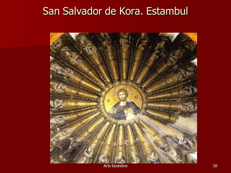 Arte bizantino50 San Salvador de Kora. Estambul