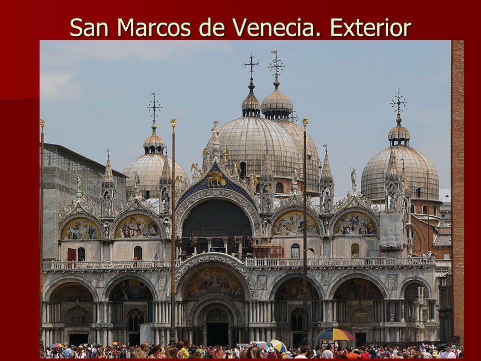 Arte bizantino56 San Marcos de Venecia. Exterior