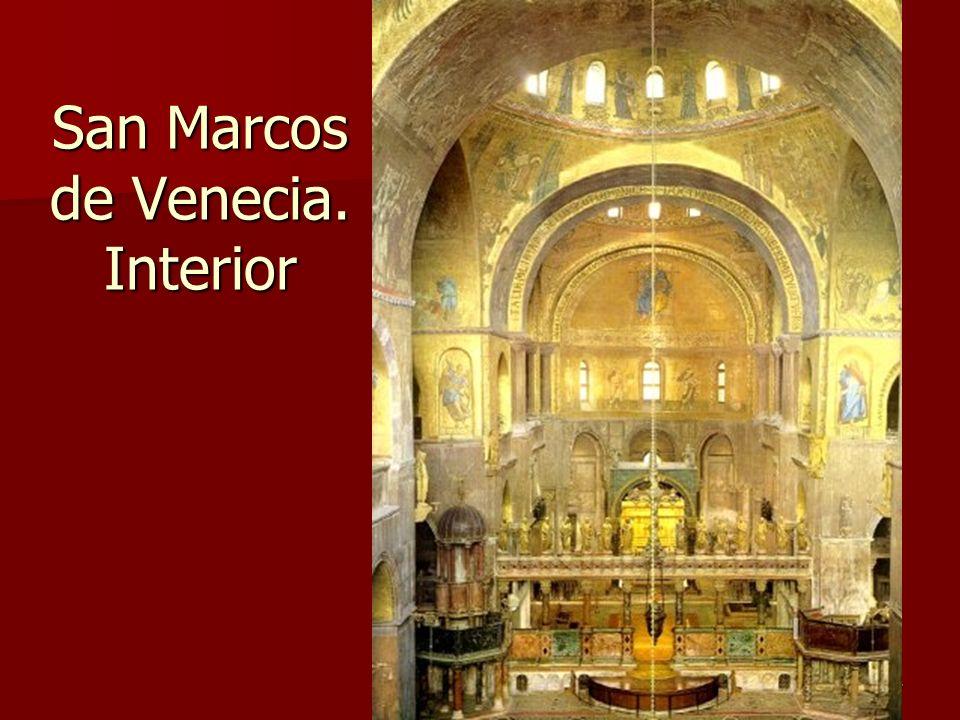 Arte bizantino57 San Marcos de Venecia. Interior