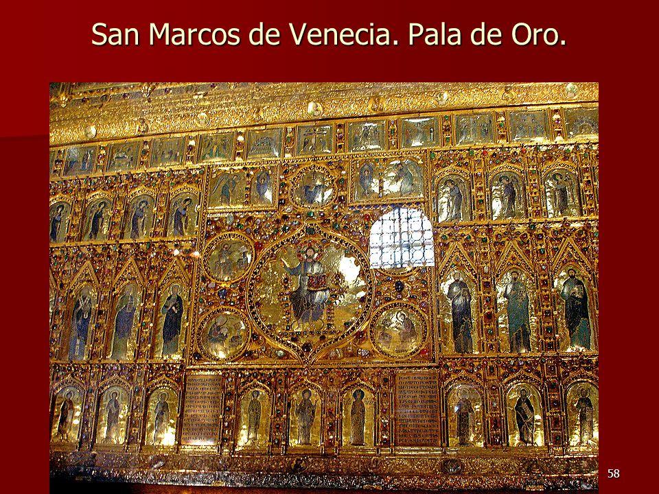 Arte bizantino58 San Marcos de Venecia. Pala de Oro.