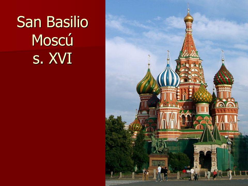 Arte bizantino64 San Basilio Moscú s. XVI