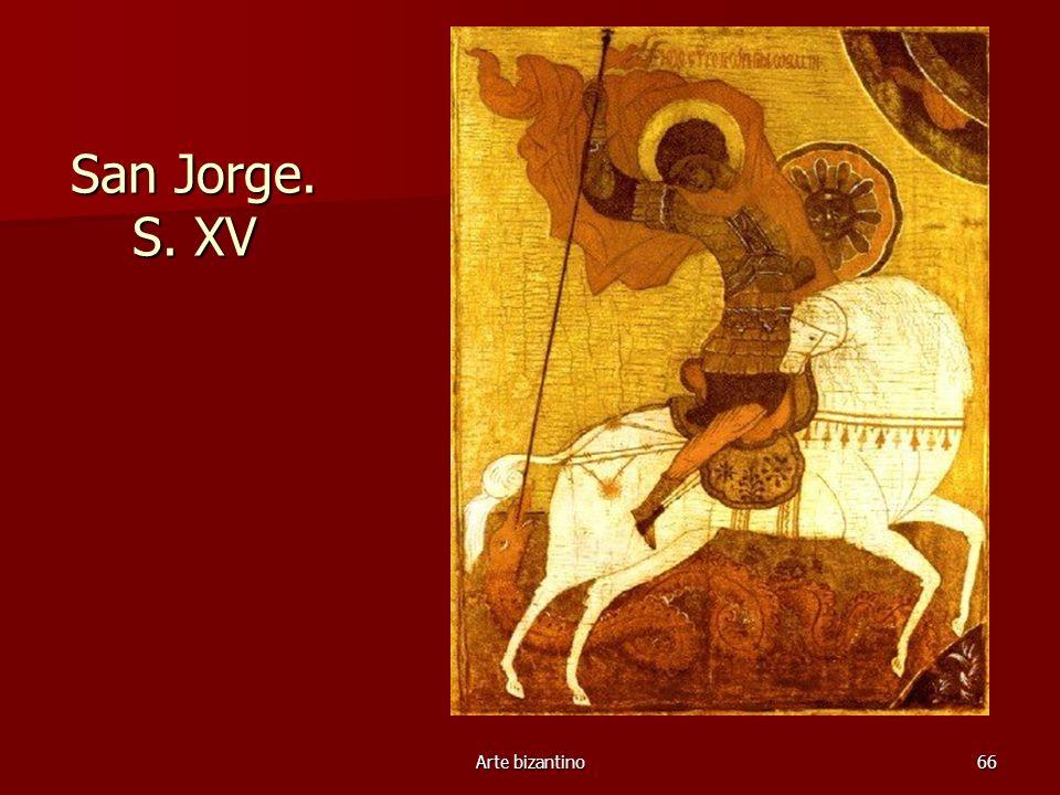 Arte bizantino66 San Jorge. S. XV