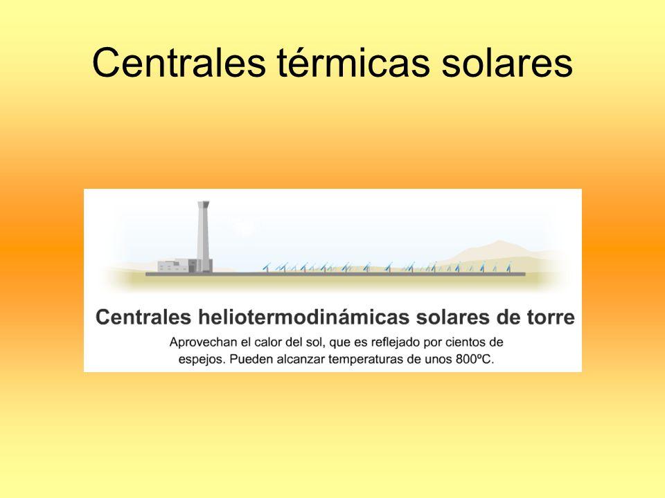Centrales térmicas solares