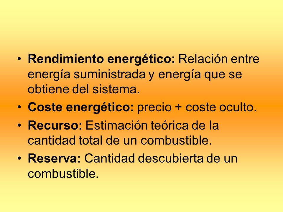 ENERGÍAS CONVENCIONALES Carbón: Combustible abundante pero contaminante.