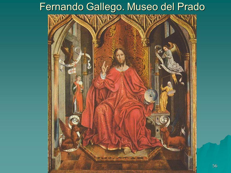 Pintura gótica 56 Fernando Gallego. Museo del Prado