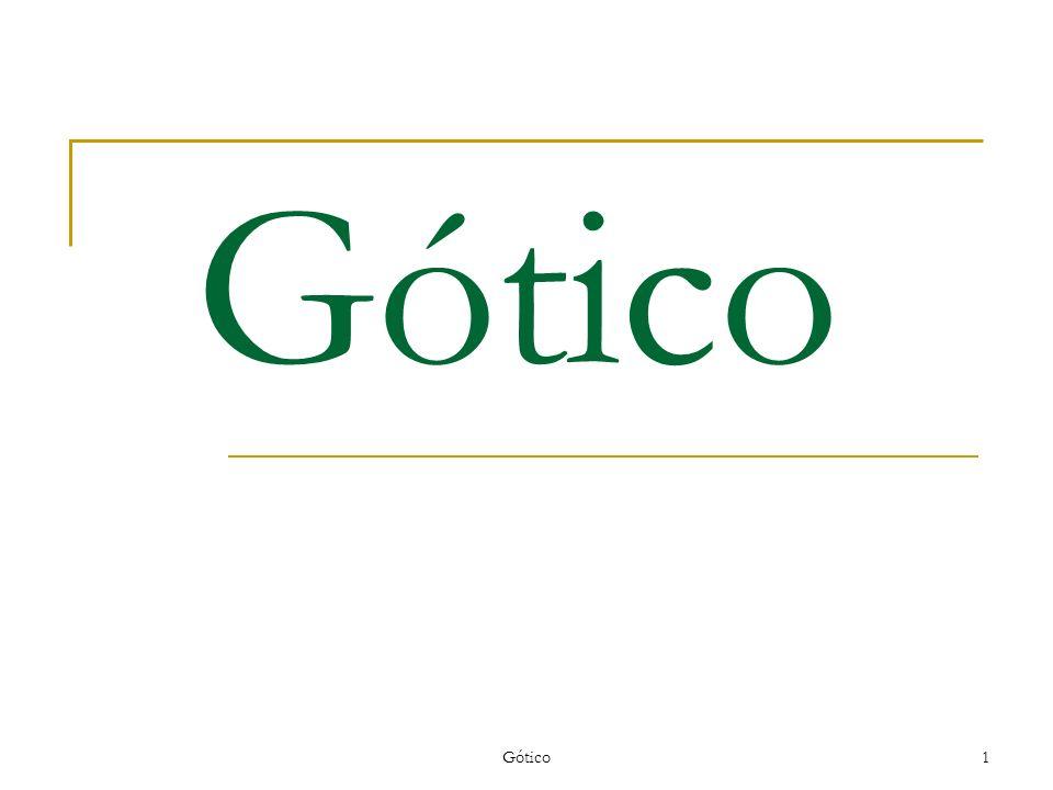 Gótico1 Gótico