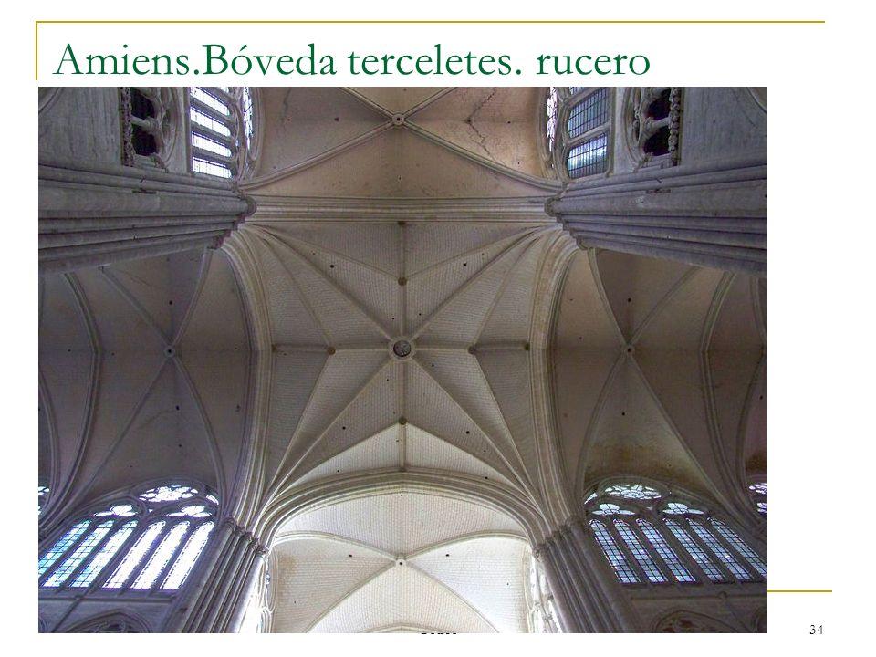 Gótico 34 Amiens.Bóveda terceletes. rucero