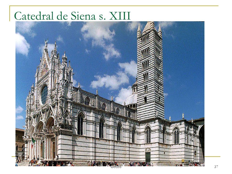 Gótico 37 Catedral de Siena s. XIII
