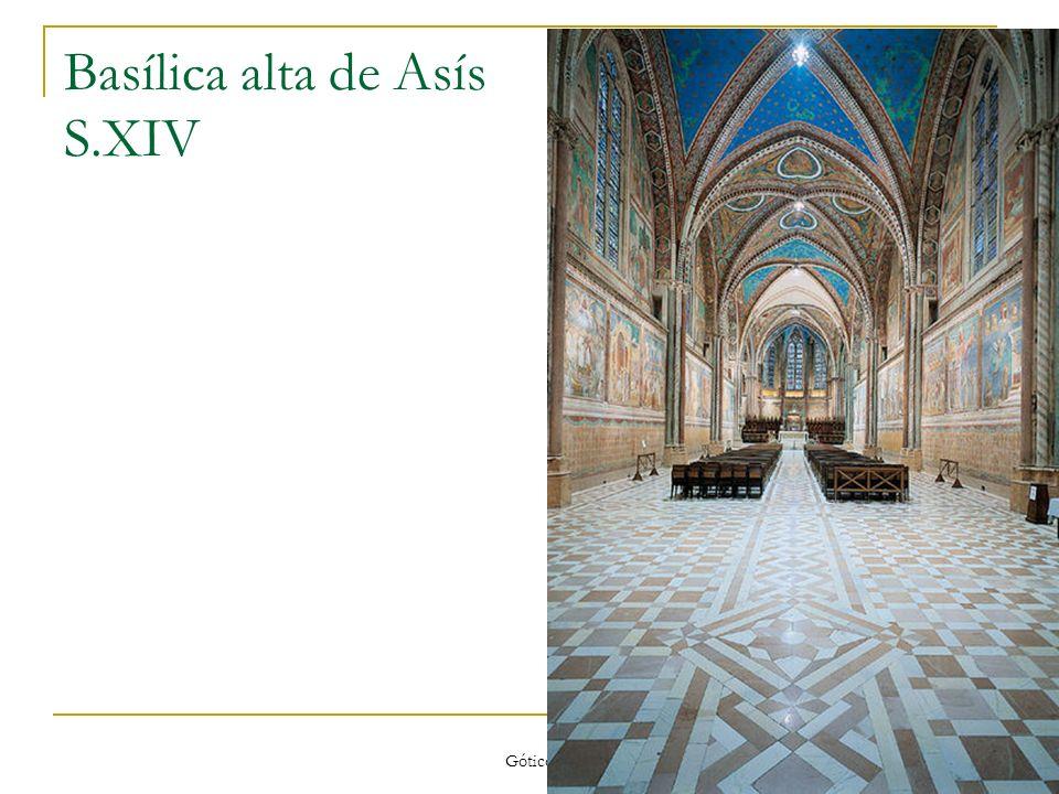 Gótico 39 Basílica alta de Asís S.XIV