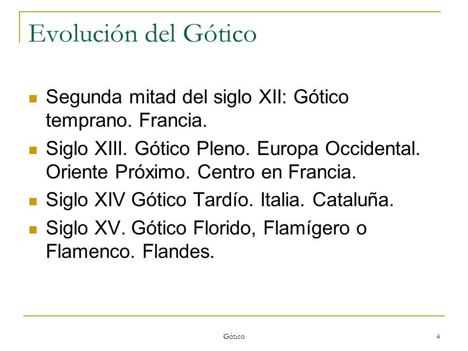Gótico 35 Santa Capilla.