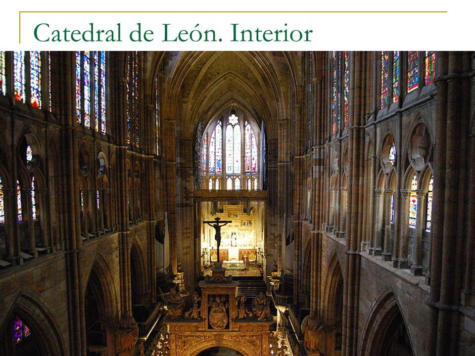 Gótico 59 Catedral de León. Interior