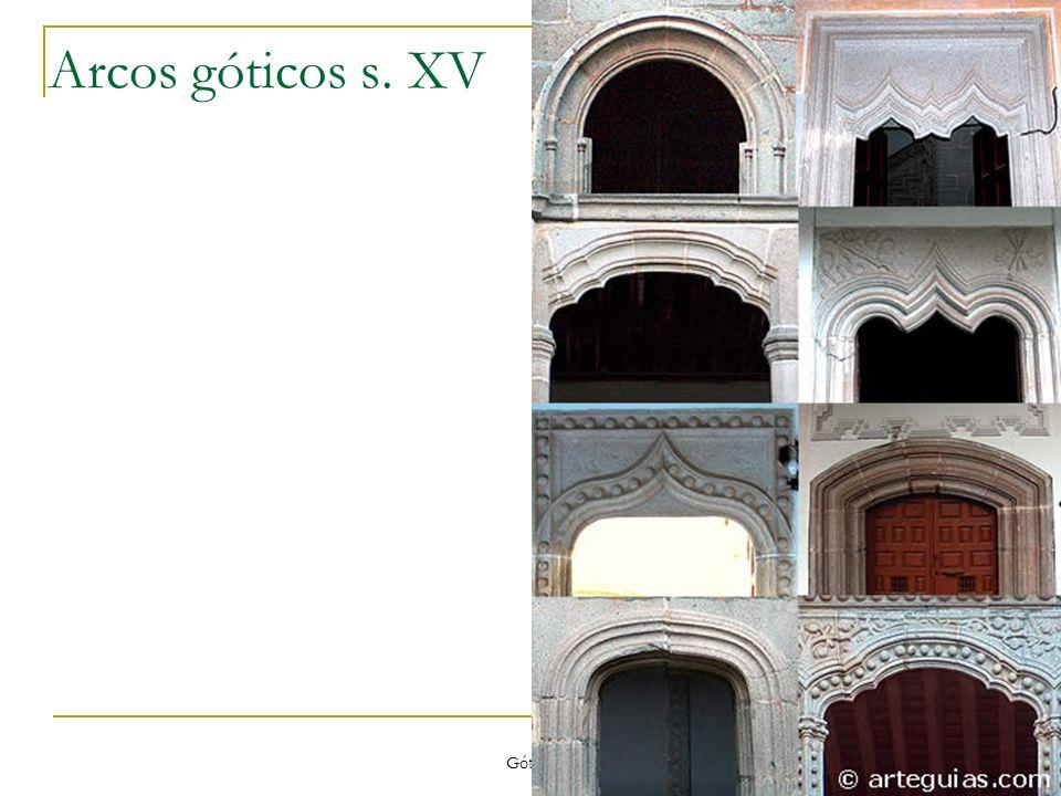 Gótico 69 Arcos góticos s. XV